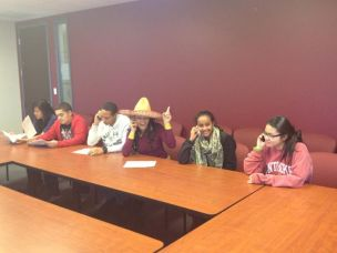 2012 - Scholars spread the word about Steppingstone's upcoming conference