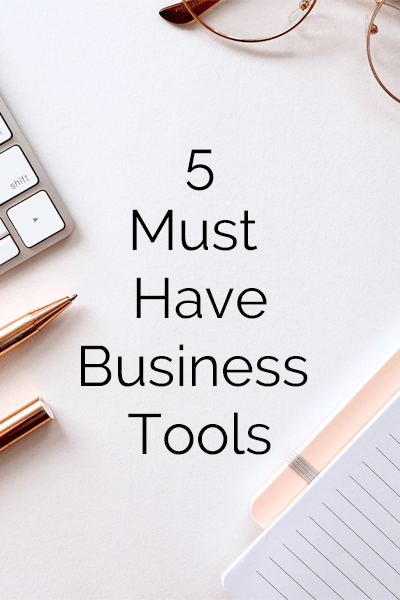 5 tools for business