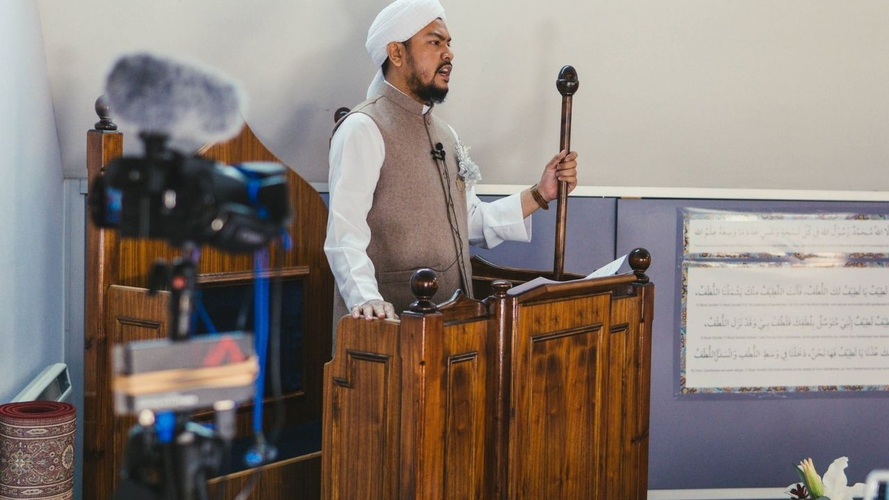 Photo of Eid Khutbah Livestream