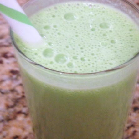 the sugarapple green smoothie