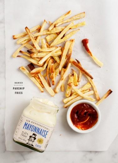 baked parsnip fries via love and lemons