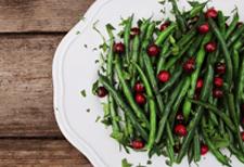 chef tal's green beans via gardein