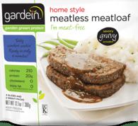 meatless meatloaf via gardein