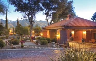 canyon ranch entrance tucson az via just luxe