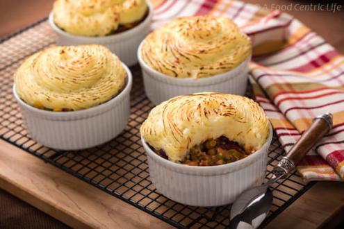 vegetarian shepherds pie via a food centric life
