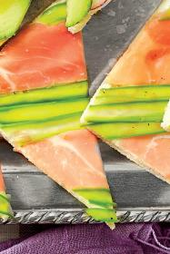 prosciutto asparagus tea sandwiches via southern living
