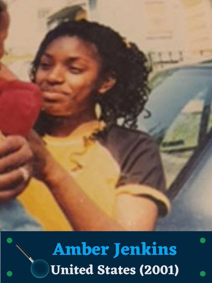"""Amber Jenkins, 5'1"""", Female, Brown Hair, Brown Eyes, Black"""