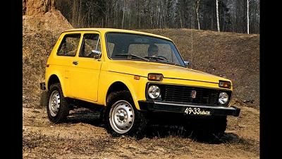 Peter Coop, Lada Niva, Yellow