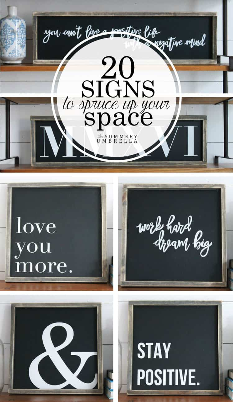 You'll most DEFINITELY want to stop by the blog today to check out these beauties! This rustic and modern spring sign collection is full of inspiration and creativity!