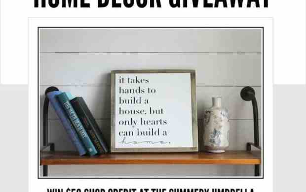 fall inspiration home decor sign giveaway - Home Decor Giveaway