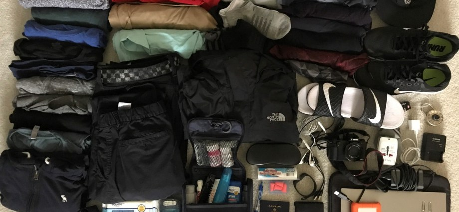 What to pack for long term travel in South East Asia