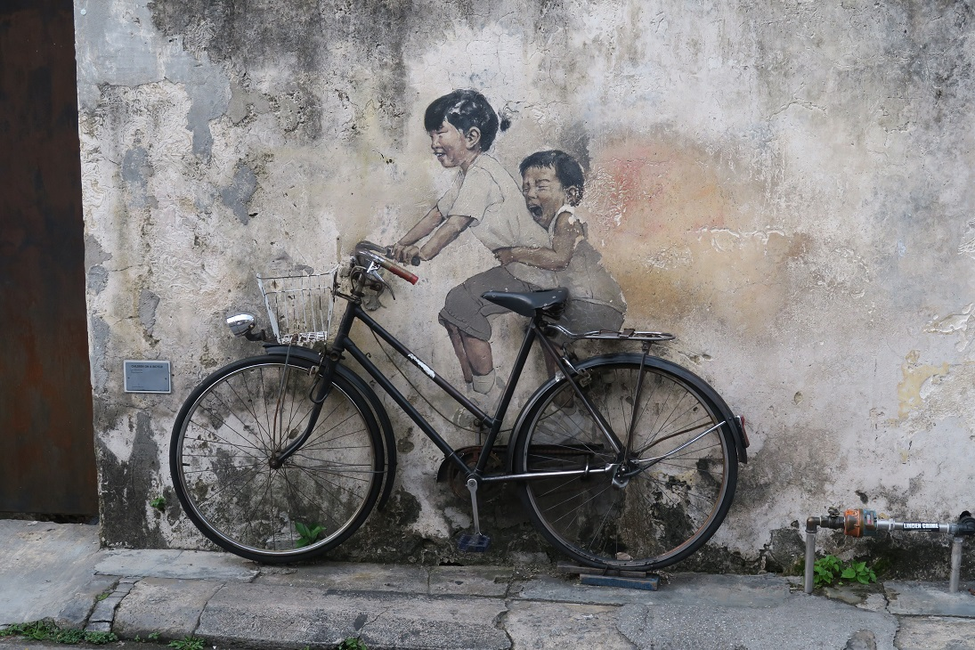 Penang Street Art How to Spend Less Than $30 Per Day in Malaysia