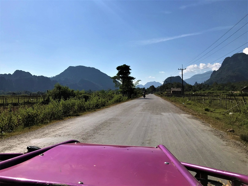 Driving in a buggy in Vang Vieng What $40 per day can get you in Laos
