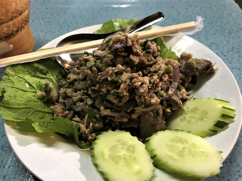 Larb What $40 per day can get you in Laos