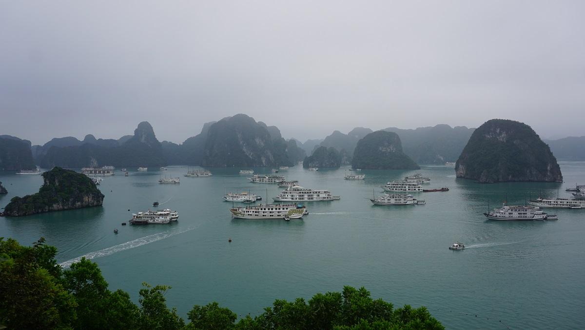 Ha long bay titop island Budget Breakdown Travelling as a Couple in Vietnam