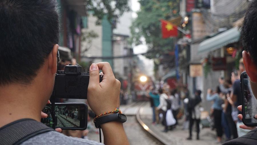 Hanoi train street Budget Breakdown Travelling as a Couple in Vietnam