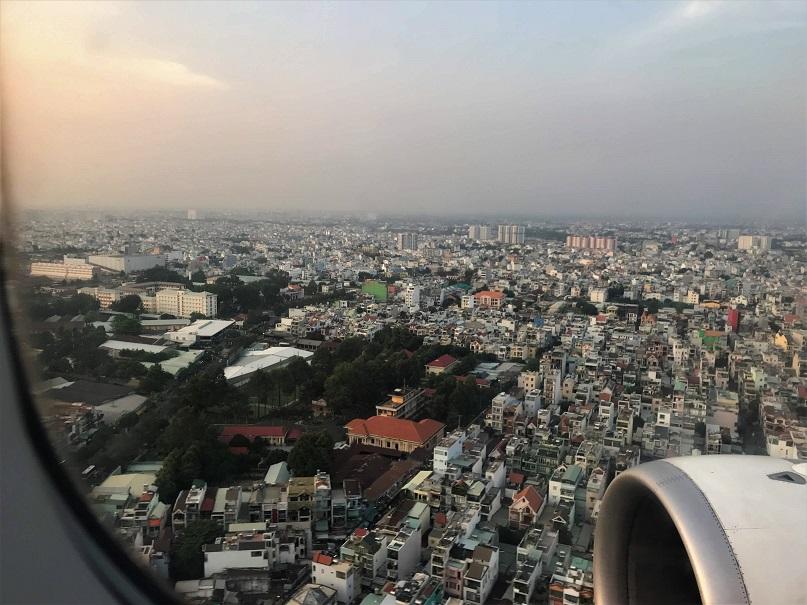 Overlooking Saigon Budget Breakdown Solo Travel in South Vietnam