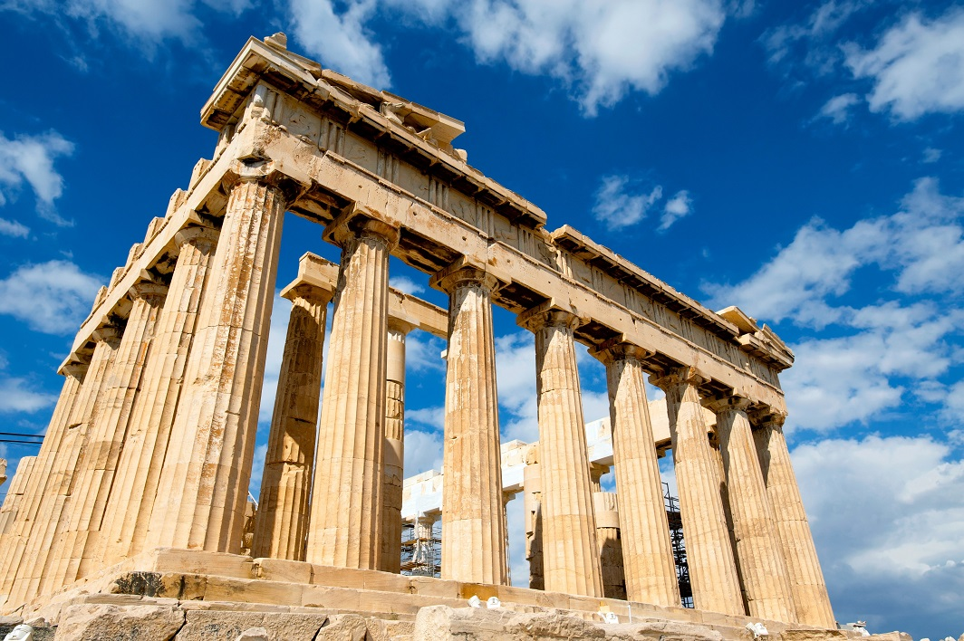 Parthenon Booked My Mini Round the World Trip with Aeroplan