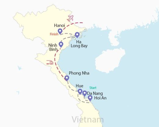 North Vietnam route Budget Breakdown Travelling as a Couple in Vietnam