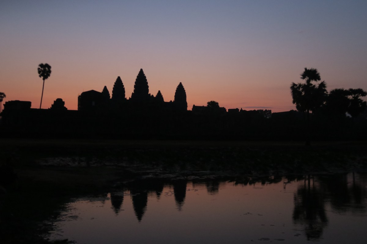 Sunrise at Angkor Wat Budget Breakdown How To Spend Less Than $50 Per Day in Cambodia