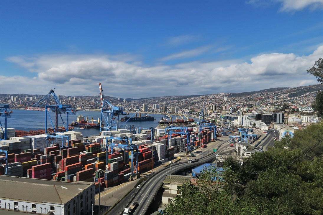 View-of-Valparaiso-from-Artillery-Hill-Budget-Breakdown-8-Days-in-Chile