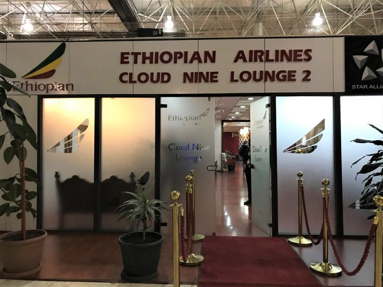 Cloud Nine Lounge 2 Review Ethiopian Airlines Business Class Addis Ababa to Tokyo
