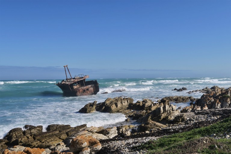 Meisho Maru Ship Wreck The Budget Traveller's Guide to the Garden Route Road Trip