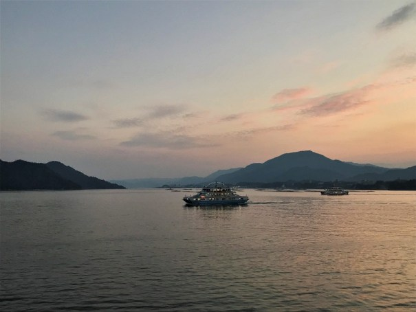 Sunset-at-Miyajima-Budget-Breakdown-The-Cost-of-Travelling-in-Japan
