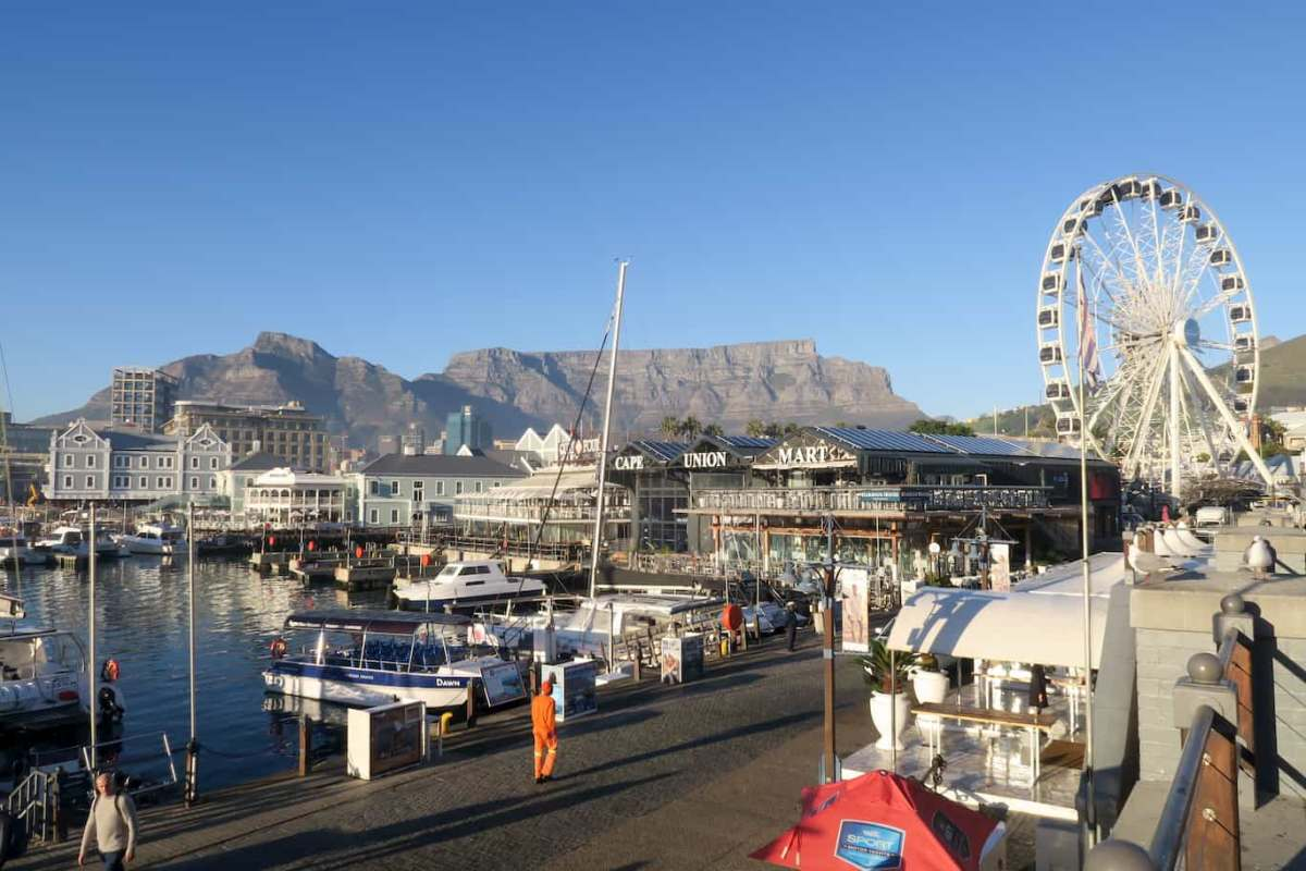 V&A Waterfront City Guides Cape Town on a budget