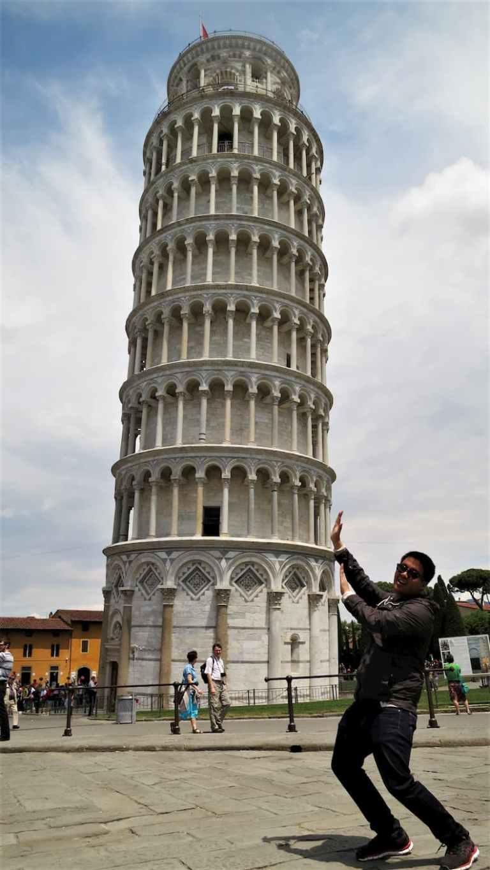Adi Leaning Tower of Pisa Italy