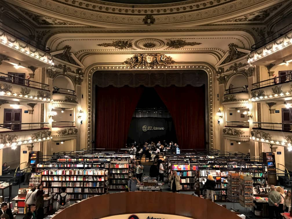 El Ateneo Grand Splendid Bookstore Buenos Aires