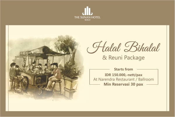 Narendra Resto On May 2019 The Sunan Hotel Solo