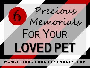 6 precious memorials for your loved pet