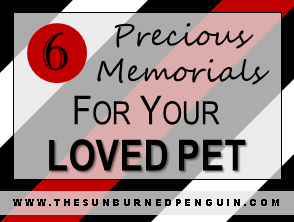 6 precious memorials for your loved pet