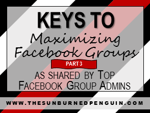 Keys To Maximizing Facebook Groups as shared by Top Facebook Group Admins - Part Three