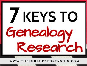 7 Keys to Genealogy Research