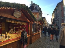 The medieval christmas market at Esslingen, Stuttgart