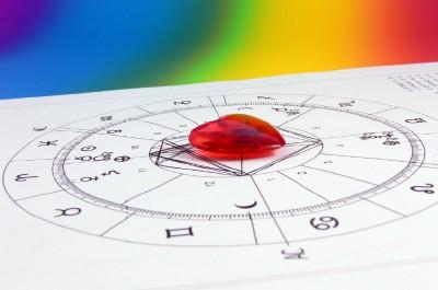 heart rainbow astrology