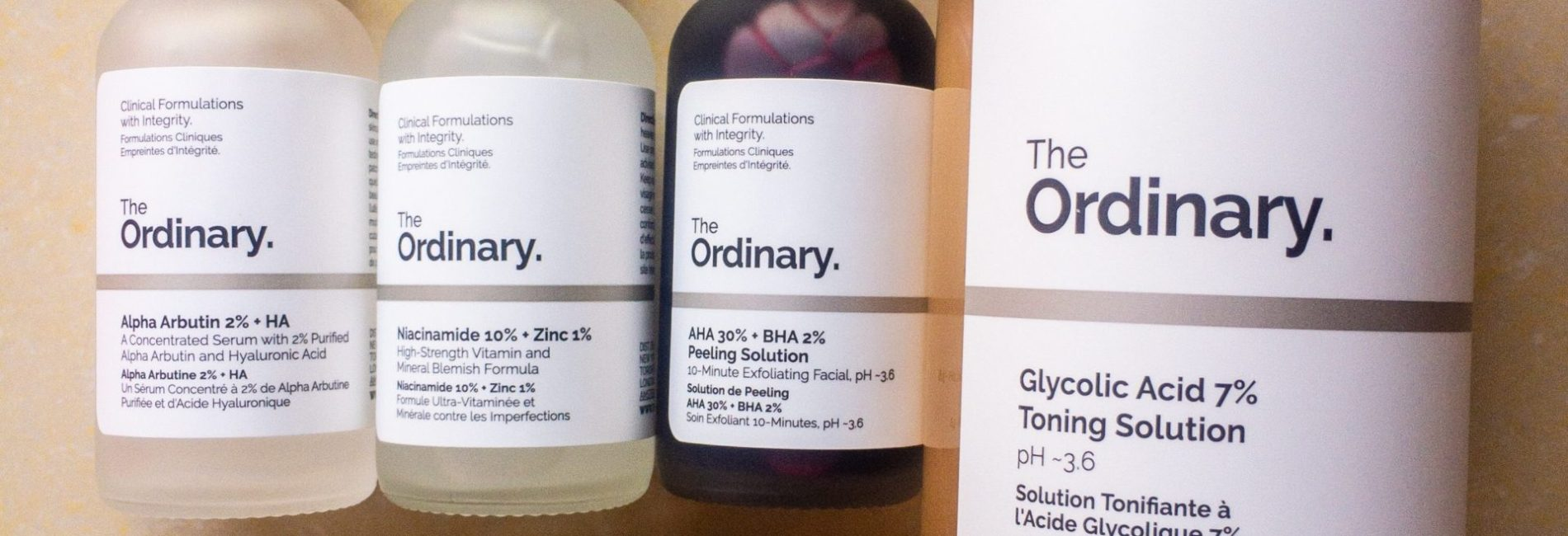 First Impressions: The Ordinary Skincare
