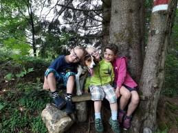 wandern mit kindern in vorarlberg, hund und kind, alberschwende wasserfall, wasserfall vorarlberg, wohin wandern wasserfall, wo gibt es in vorarlberg einen wasserfall, bregenzerwald, kinder und natur