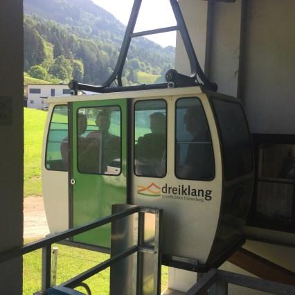 Seilbahn schnifis, schnifisberg