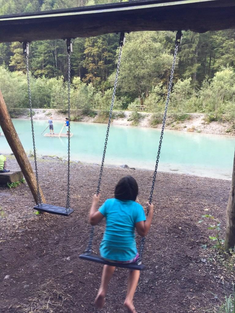Wasserfall Marul, Wandern mit Kindern, Vorarlberg, Walderlebnispfad Marul, Biosphärenpark Marul, the sunny side of kids, kinderwagentauglich wandern vorarlberg