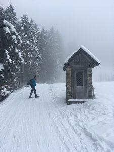 winterwanderweg zur lustenauer hütte