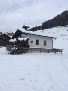 sonderdach im winter
