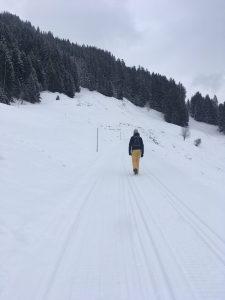 winterwanderweg sonderdach, niedere