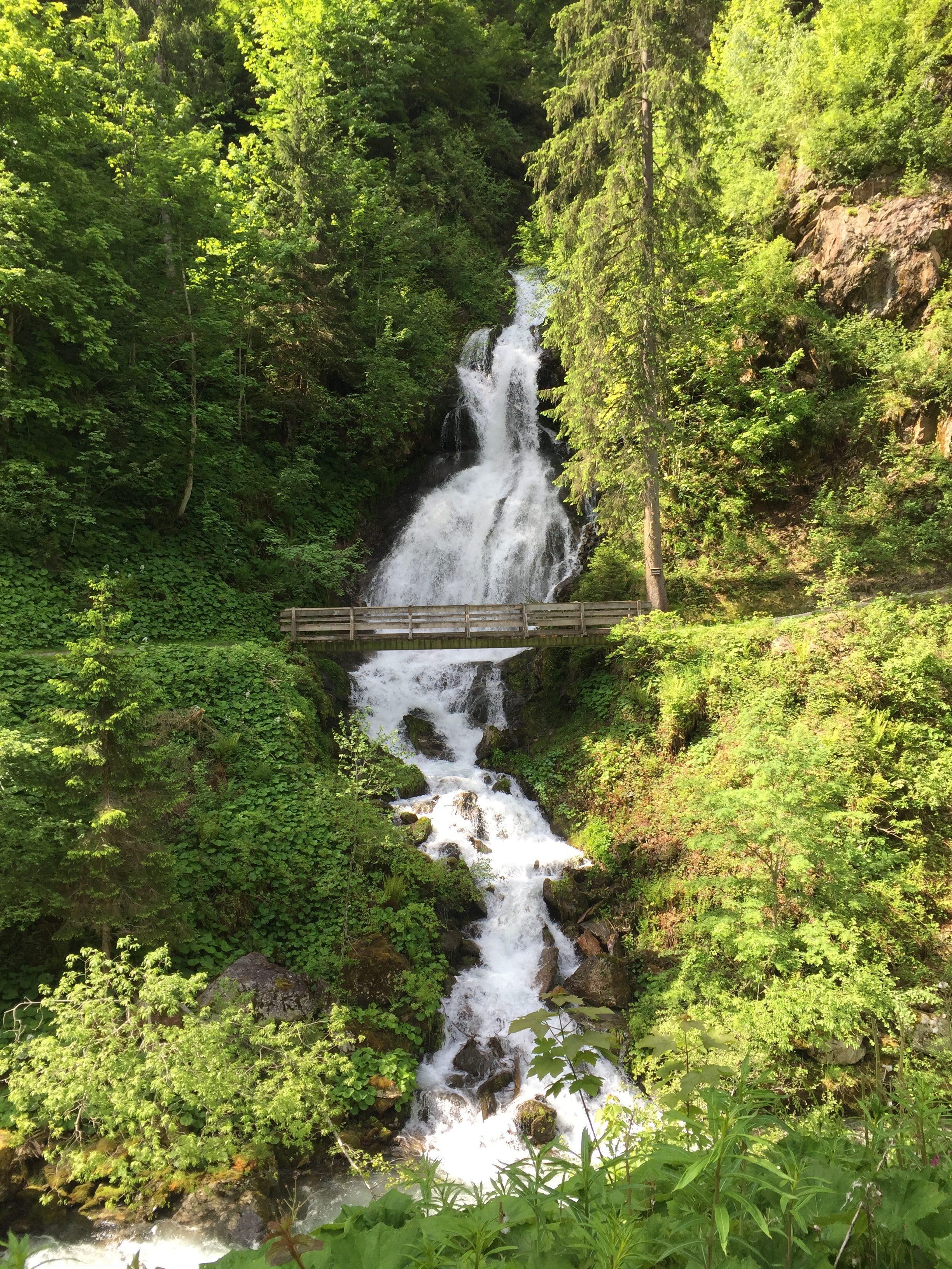 Wasserfall teufelsbach, Silbertal