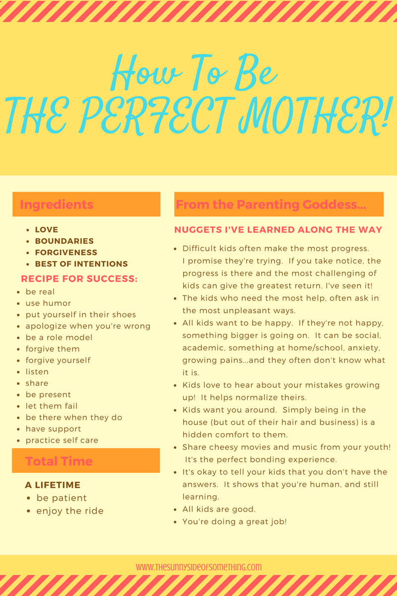 perfect mom recipe
