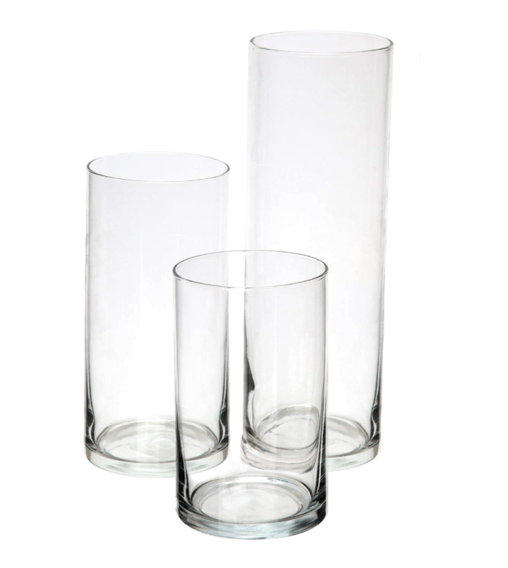 Set of 3 vases