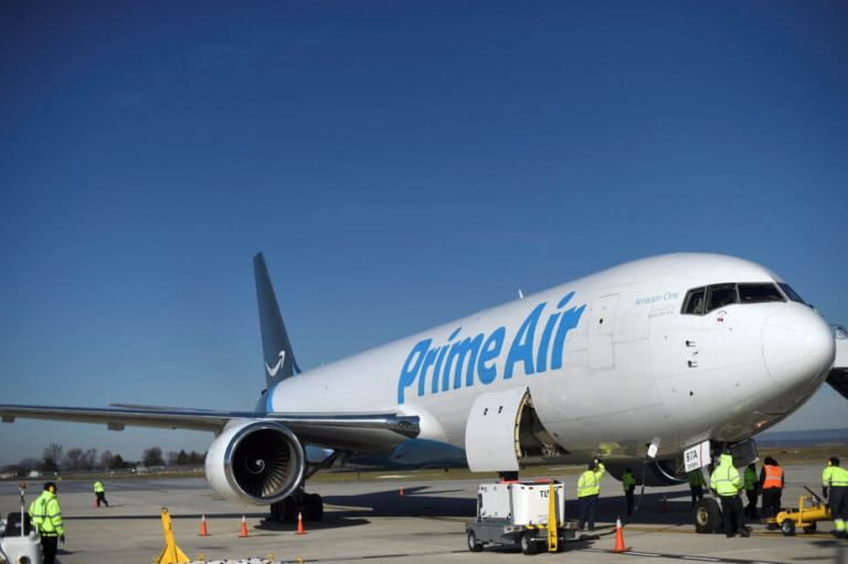 Amazon starts flexing muscle in new space: air cargo