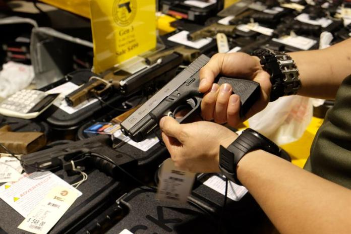 Interest in guns soars to record highs in the United States